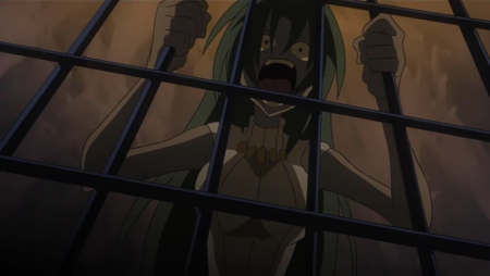 Scenes like this are not so uncommon in Higurashi