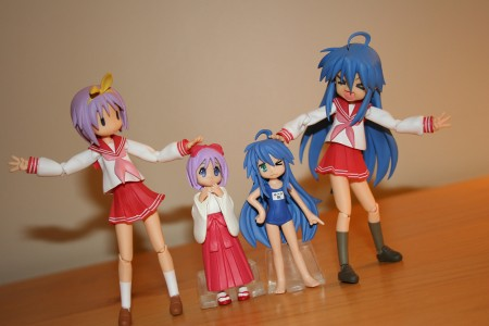 Mini miku Tsukasa joins the fun